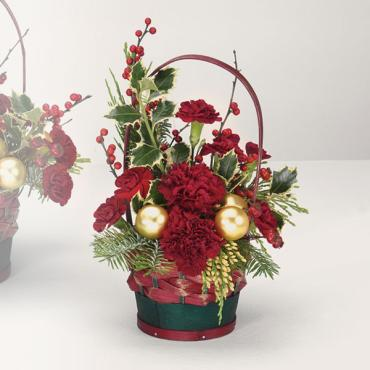 Yuletide Greetings Basket