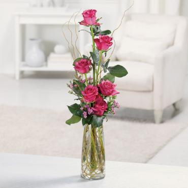 The Rustic Half-Dozen Roses