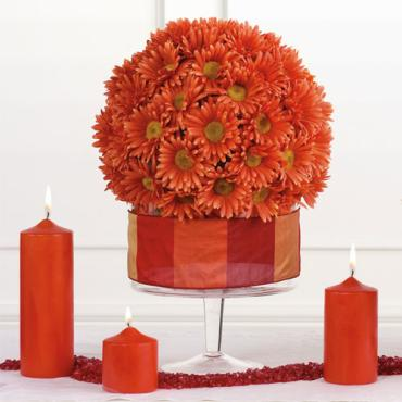 Medium Gerbera Sphere Arrangement