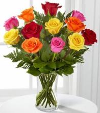 """The Classic\"" Dozen Roses MIXED"